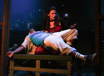 Maria Lee in GODSPELL at Knightsbridge Theatre